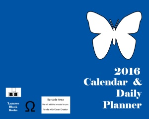 2016 calendar and daily planner