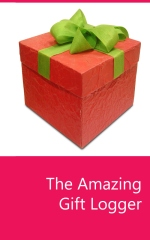 The Amazing Gift Logger - Book cover