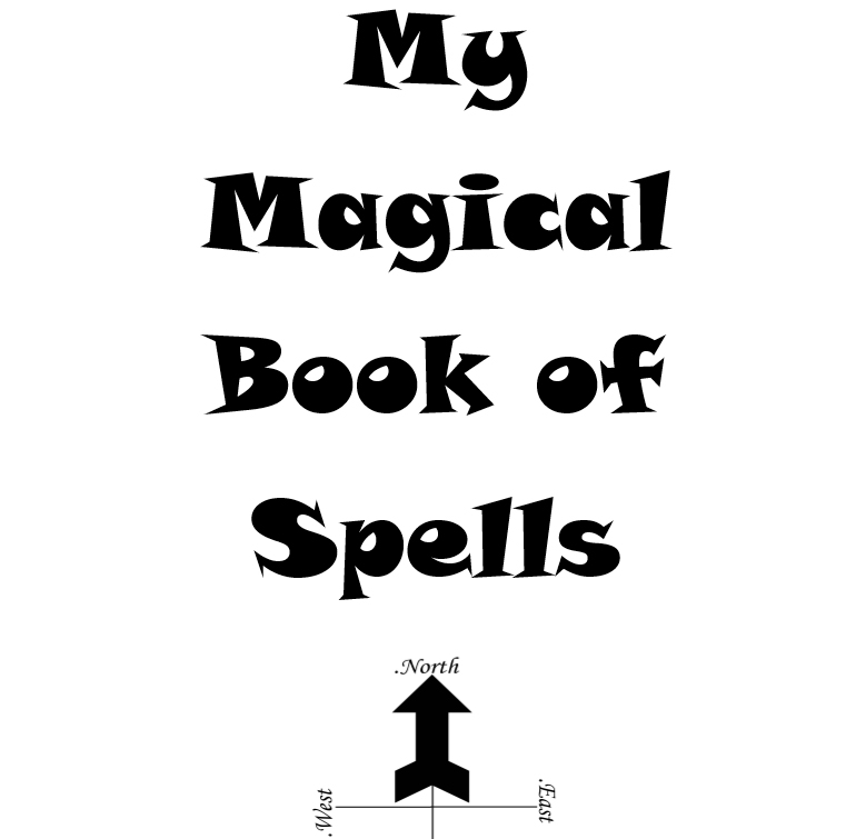 My magical book of spells interior 1