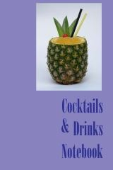 Cocktails & Drinks Notebook - Book cover
