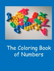 Coloring Book of Numbers - Book cover