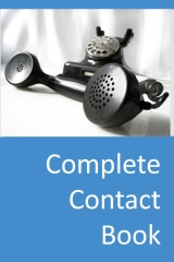 Complete Contact Book - Cover