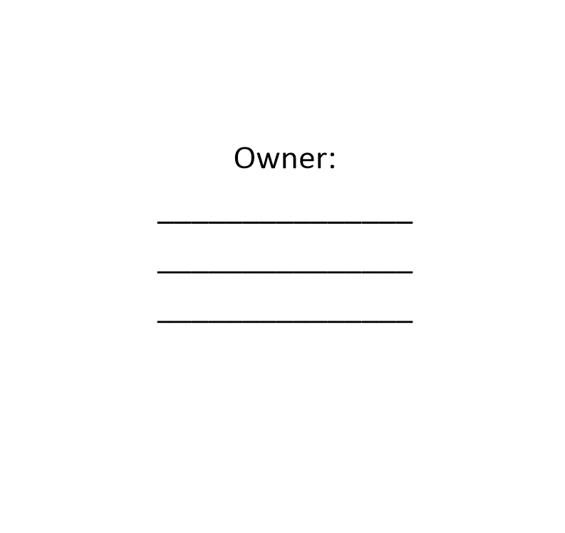 contact book owner