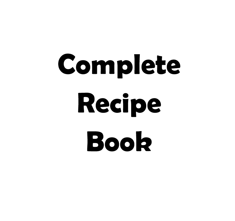 complete recipe book 1