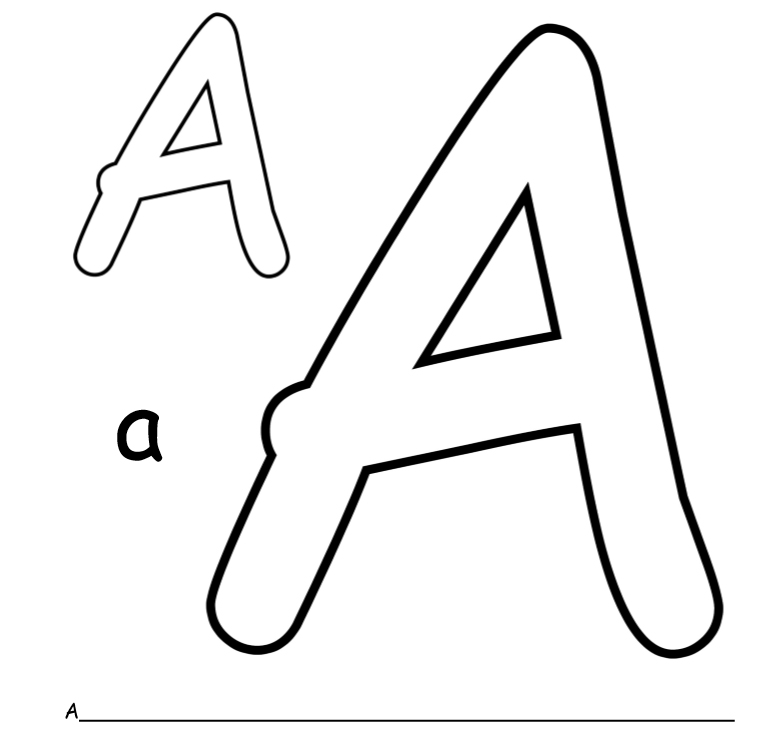 english alphabet coloring book web 2