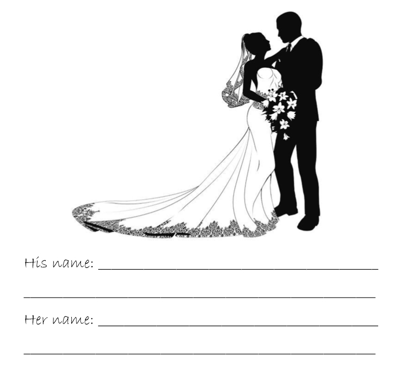 happy wedding guestbook interior web 1