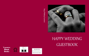 Happy Wedding Guestbook cover