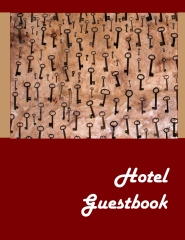 Hotel Guestbook - Book cover
