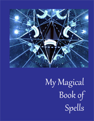 My magical book of spells - Book cover