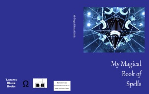 My magical book of spells cover