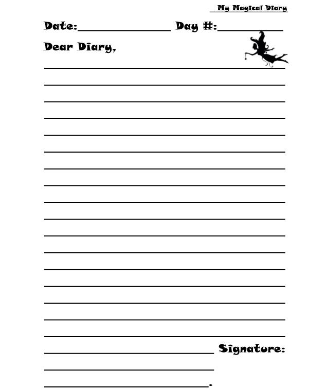 my magical diary 3