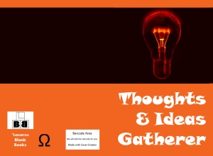 Thoughts & ideas gatherer - book cover