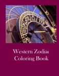 Western Zodiac Coloring Book - Cover
