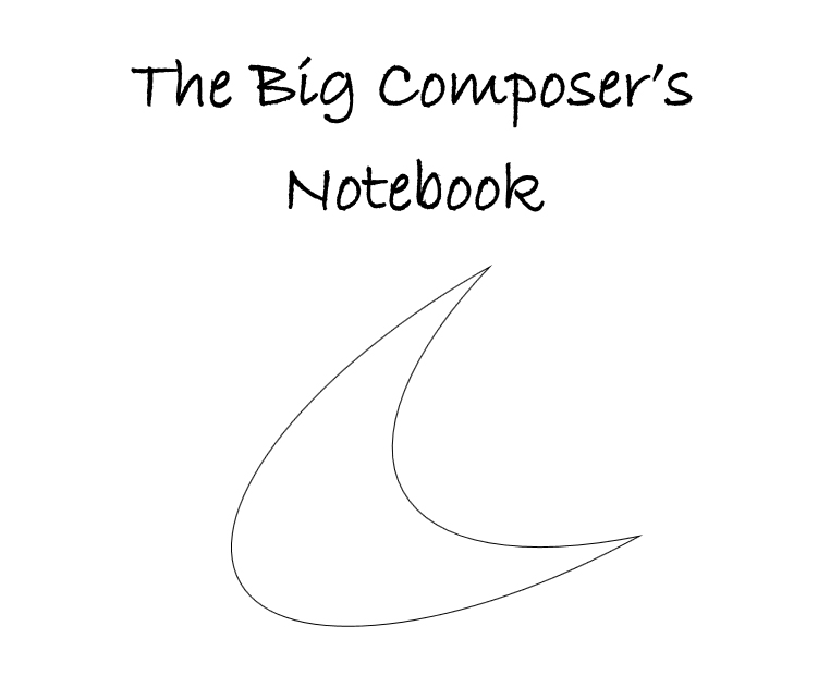 The big composer's notebook - interior 1