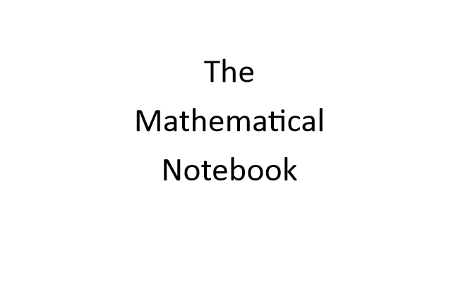 The Mathematical Notebook - Book interior - web 1
