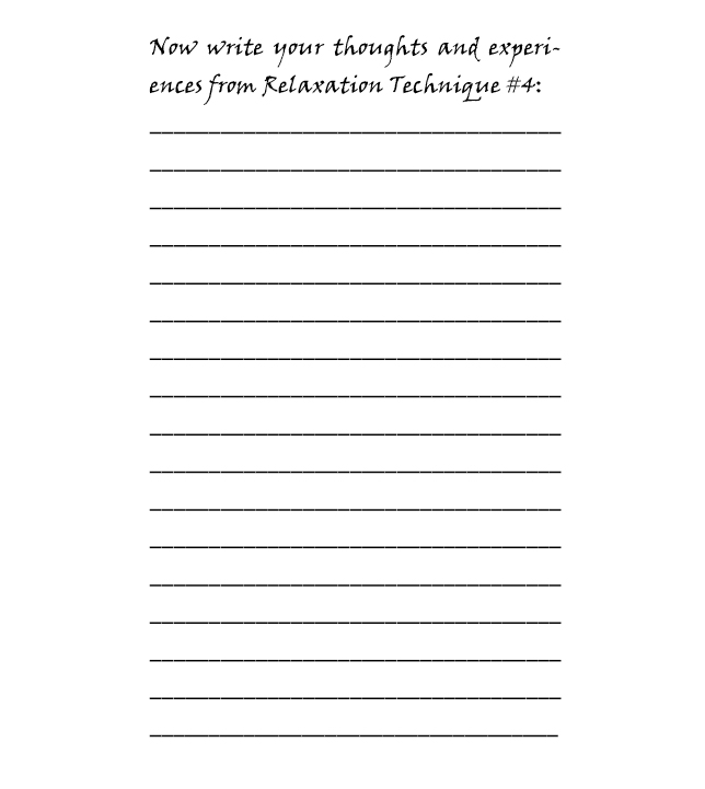 The Relaxation Notebook - Book interior - web 4
