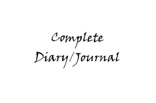 Complete Diary/Journal - Book interior - web 1