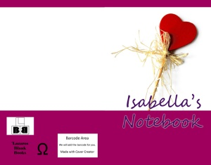 Isabella's Notebook - Book Cover