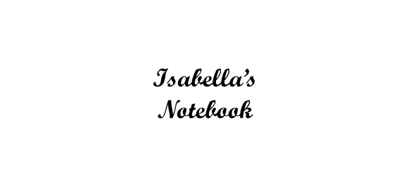Isabella's Notebook - Book interior - web 1