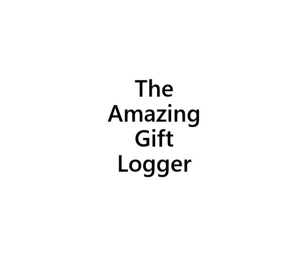 The Amazing gift logger - book interior - web2