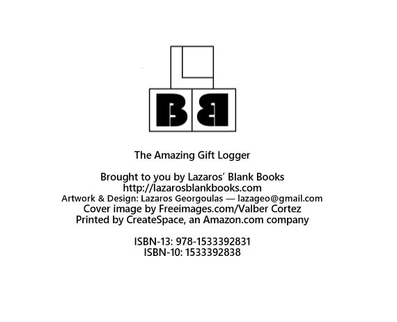The Amazing gift logger - book interior - web5