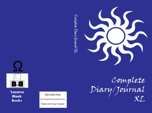 Complete diary/journal XL - Book cover