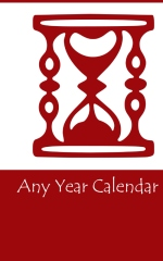 any year calendar - book cover thumbnail