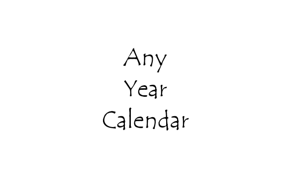 any year calendar - book interior - web 1