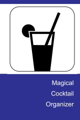 magical cocktail organizer - book cover