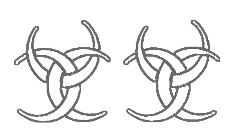 Sacred symbols coloring book - book interior - web 5