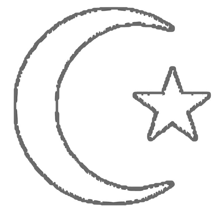 Sacred symbols coloring book - book interior - web 3