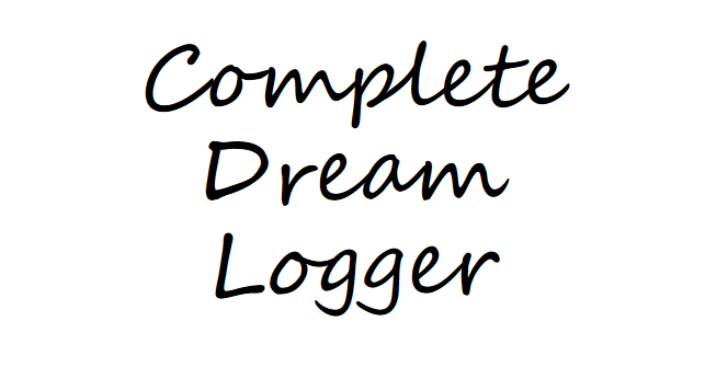 Complete dream logger - book interior - web 1