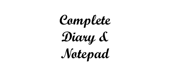 Complete Diary & Notepad - Book interior - web 1