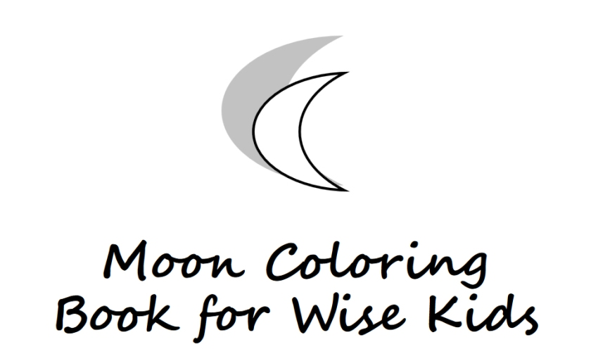 Moon coloring book for wise kids - Book interior - web1