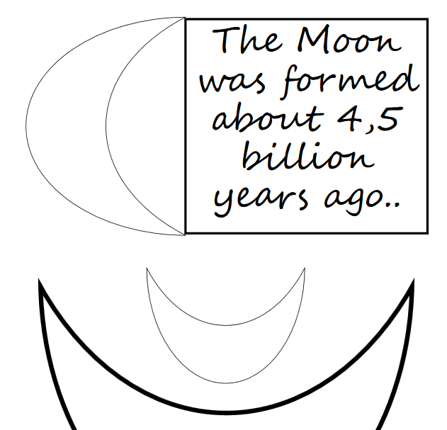 Moon coloring book for wise kids - Book interior - web2