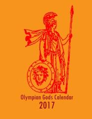 Olympian Gods Calendar 2017