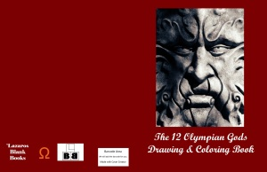 The Olympian Gods Drawing & Coloring Book - Full cover