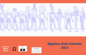 Egyptian Gods Calendar 2017 - Full Cover