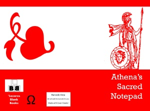 Athena's sacred notepad - Full cover