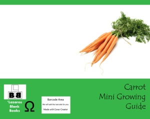 Carrot mini growing guide - Full cover