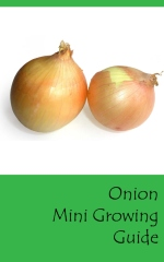 Onion mini growing guide - Front cover