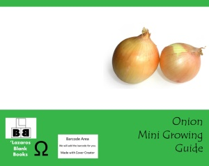 Onion mini growing guide - Full cover