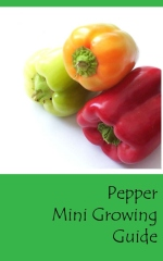 Pepper Mini Growing Guide - Front cover