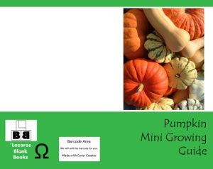 Pumpkin mini growing guide - Full cover