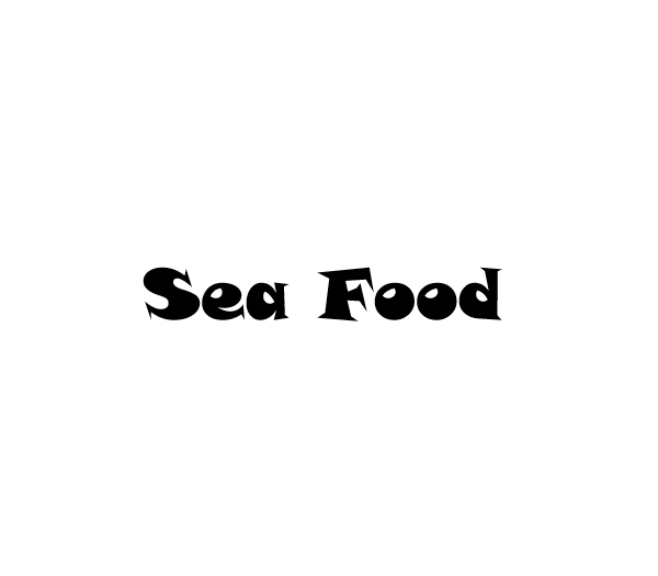 Sea Food Coloring Book - Book interior 2