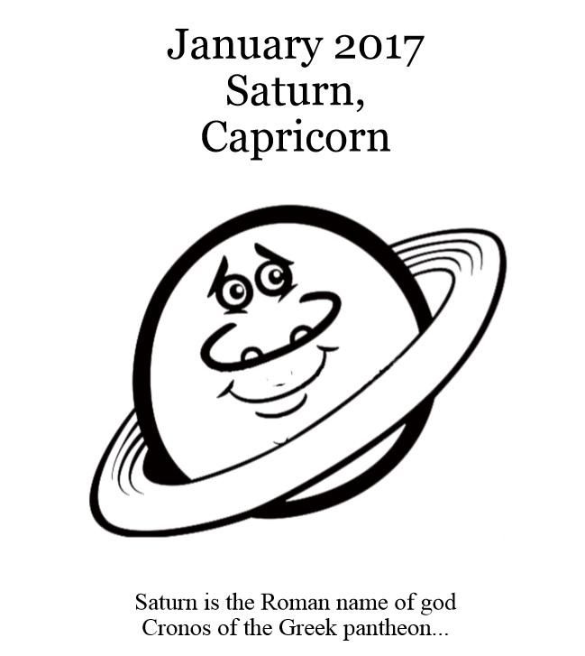 2017 Planets Calendar & Organizer - Book interior 4
