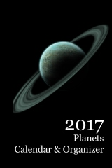 2017 Planets Calendar & Organizer - Front cover