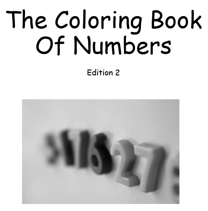 The coloring book of numbers - Edition 2 - Book interior 1