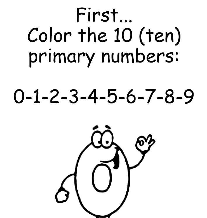 The coloring book of numbers - Edition 2 - Book interior 3