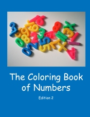 The coloring book of numbers - Edition 2 - Front cover